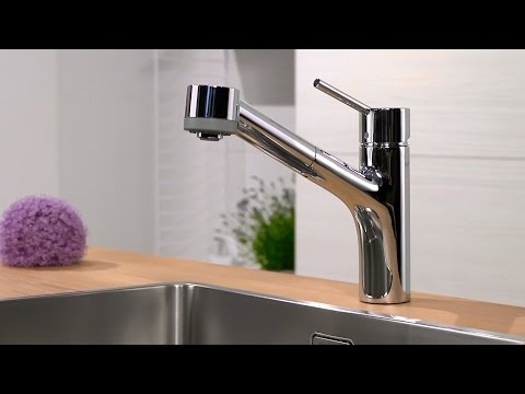 Hansgrohe Talis S kitchen mixer pull-out spray