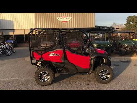 2018 Honda Pioneer 1000-5 Deluxe in Greenville, North Carolina