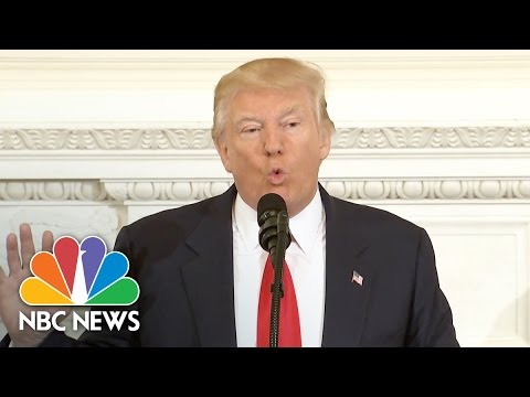 President Donald Trump Says His Budget 'Will Build Depleted  Military' | NBC News
