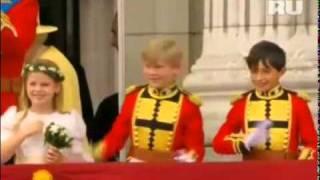 Принц Уильям и Кэтрин Миддлтон, Поцелуй принца Уильяма и Кейт Миддлтон