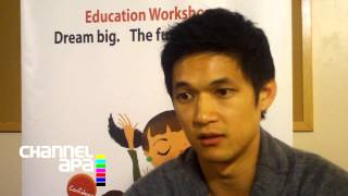 Harry Shum Jr. interview with channelAPA.com