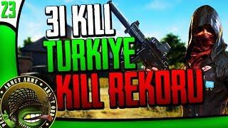 ArmutTV PUBG Türkiye Kill Rekoru 31 Kills [SOLO Vs SQUAD EU TPP]