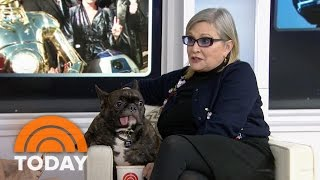 Carrie Fisher And Her Frenchie Are A Force To Be Reckoned With | TODAY