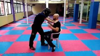 Luís Caballero – Prevención y defensa ante estrangulamientos frontales
