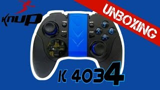 Controle knup :unboxing KP-4034