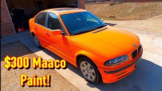 $200 Copart BMW 325xi Gets a $300 Maaco Paint Job! Looks Amazing!!!