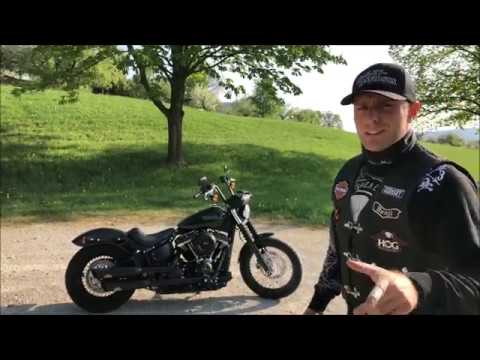 Benji´s Harley-Davidson 2018 Softail Street Bob / Series Exhaust vs. Dr. Jekill & Mr. Hyde Exhaust
