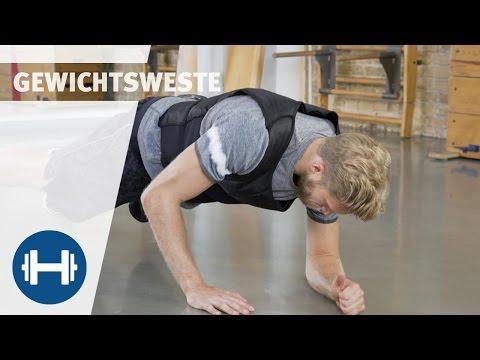 Komplettes Training mit Gewichtsweste | Übungen & Workouts | Sport-Thieme