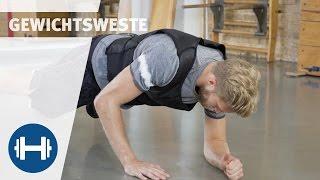 Workout mit Gewichtsweste | Fitness & Kraftsport | Sport-Thieme