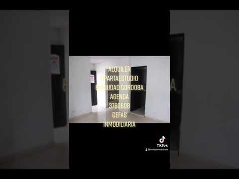 Apartaestudios, Alquiler, Ciudad Córdoba - $380.000