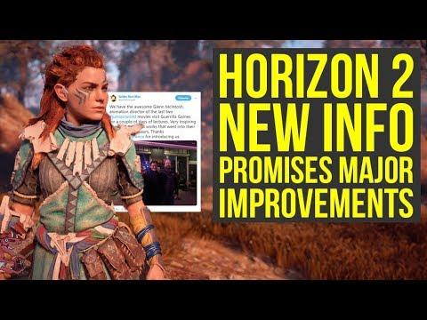 Horizon Zero Dawn 2 To Have MORE IMPRESSIVE DINOSAURS + PS4 & PS5 Release? (Horizon Zero Dawn 2019)