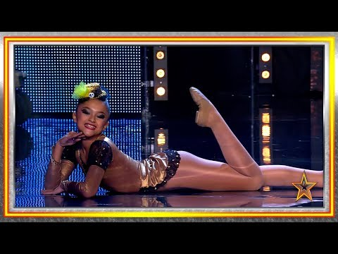El baile jazz de esta niña sorprende al jurado | Audiciones 2 | Got Talent España 2019