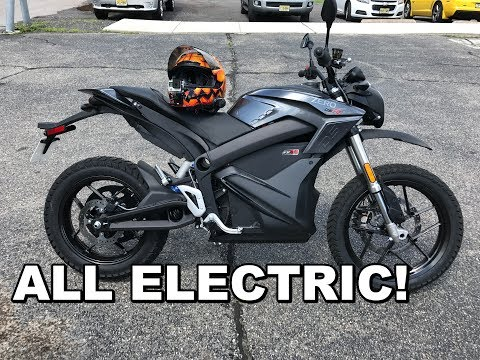 2017 Zero DSR Review – Test Ride. Completely ELECTRIC Motorcycle!