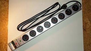 Brennenstuhl Super Solid Steckdosenleiste mit Blitzschutz Unboxing