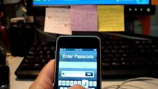 How to Unlock a locked iPod Touch 3G....but will work for them all!