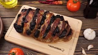 Свинина с черносливом рецепт в духовке
