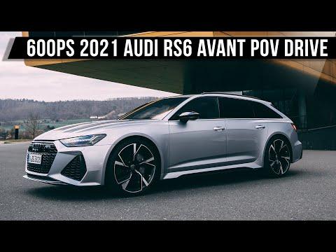 2021 Audi RS6 Avant 4.0 V8 (600PS, 800Nm) | POV DRIVE