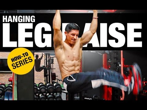 Hanging Leg Raise | HOW-TO