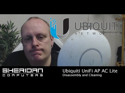 UniFi AP AC Lite Dissasembly and Cleaning