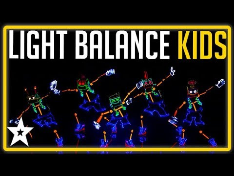 An Incredible Light Show By Children's Group