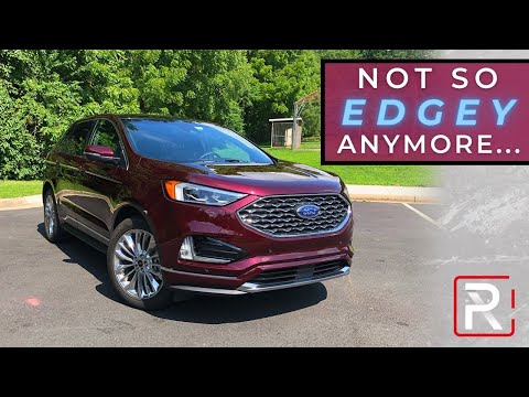 """The 2020 Ford Edge Isn't Quite So """"Edgey"""" Anymore"""