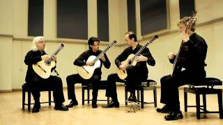 Seguidilla from Carmen by Bizet - Tetra Guitar Quartet