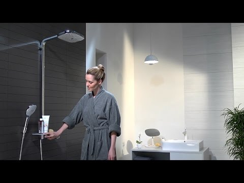 Hansgrohe Raindance Select E 300 3jet Showerpipe
