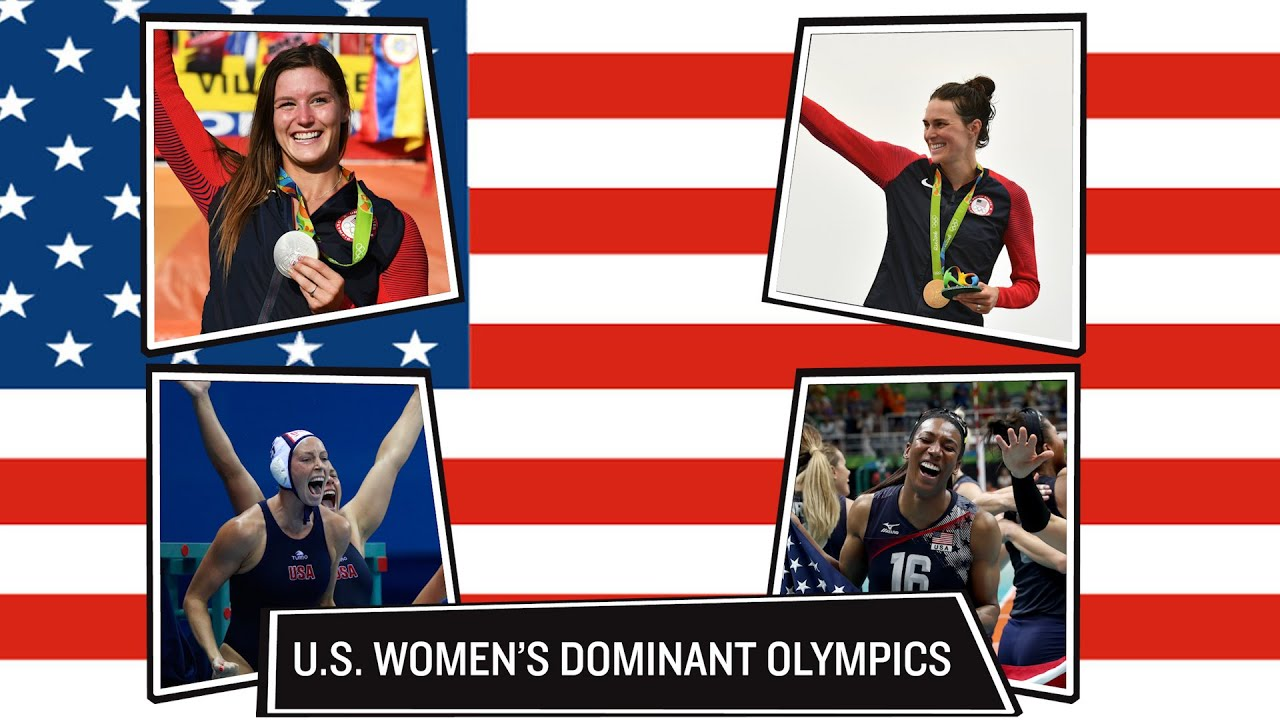 Women led the way for Team USA in2016 | Rio Olympics 2016 thumbnail