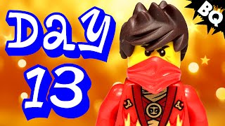 Custom Lego Ninjago Advent Calendar 2014 Day 13 Unboxing