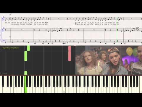 Open Kids - Не танцуй!  (Ноты для фортепиано) (piano tutorial)