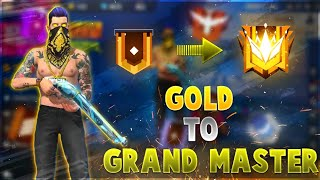 ROAD TO GRAND MASTER IN 1 DAY !! SEASON 15 FREE FIRE - DESI GAMERS