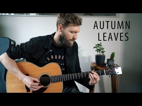Autumn Leaves Guitar Lesson | Easy Jazz Standard