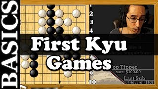 First Kyu Games   Back To Basic Baduk