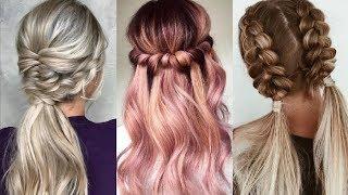 PEINADOS FÁCILES Y RÁPIDOS 2018 2019 ❣️ Easy Hairstyles Tutorial Compilation