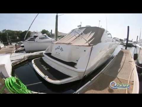 Sea Ray 450 Sundancer video