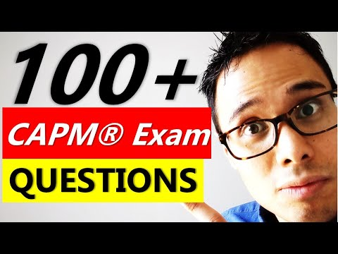 100+ CAPM EXAM QUESTIONS AND ANSWERS | CAPM Exam ...
