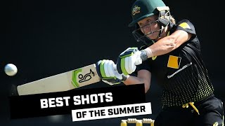 The best shots of the 2019-20 summer of cricket