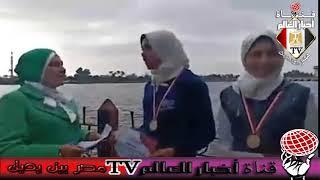 فاطمة الغرياني و لقاء مع بطلات التايكوندو بمطوبس