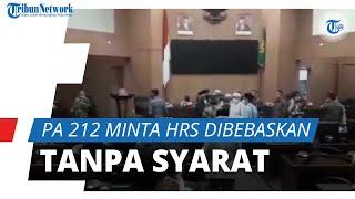 Persaudaraan Alumni 212 Minta Rizieq Shihab Dibebaskan Tanpa Syarat, Sambangi Kantor DPRD Bogor