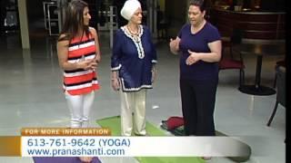 Mom Yoga on CTV Morning Live