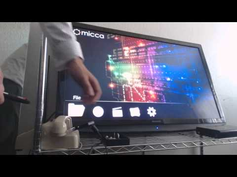 Micca Speck 1080p Full-HD Portable Digital Media Player For USB and SD/SDHC Review and Demonstration