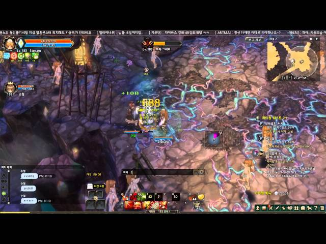 Tree of Savior 2nd CBT Level 185 Sapper Gameplay
