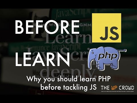 Episode 043: Before you learn JS deeply, learn PHP and WordPress Podcast