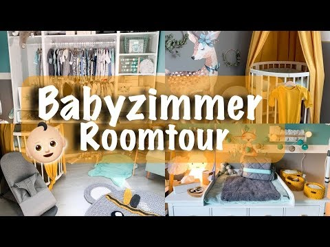 Das BABYZIMMER ist fertig! 👶🏼💙 ROOMTOUR 💙   Allaboutanna