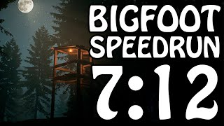 Bigfoot   Jasper National Park Speedrun 07:12 (WR)