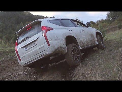 Veddroshow. Mitsubishi Pajero Sport 2016.Тест-драйв OFFROAD. видео