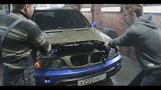 БМВ Х5. Проблемы пластидипа / BMW X5 - Problems of Plastidip
