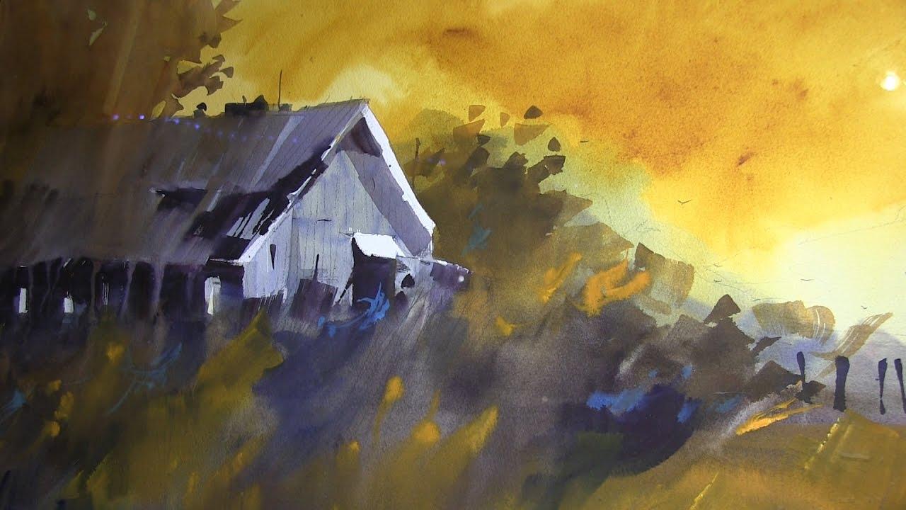 Richard Stephens Watercolors Yard Sale Party