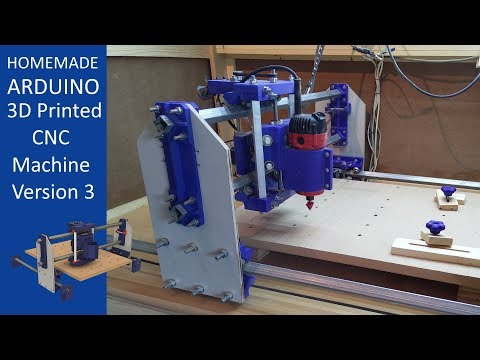 Click to view: 3D Printed CNC Machine V3