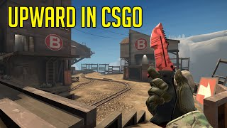 TF2 In CSGO! Upwards On Counter Strike, The Great Game Crossover, WM1 Power.